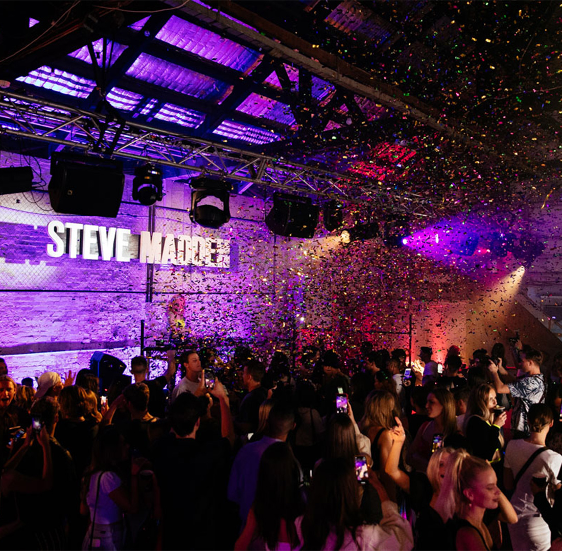 Steve Madden Warehouse Party